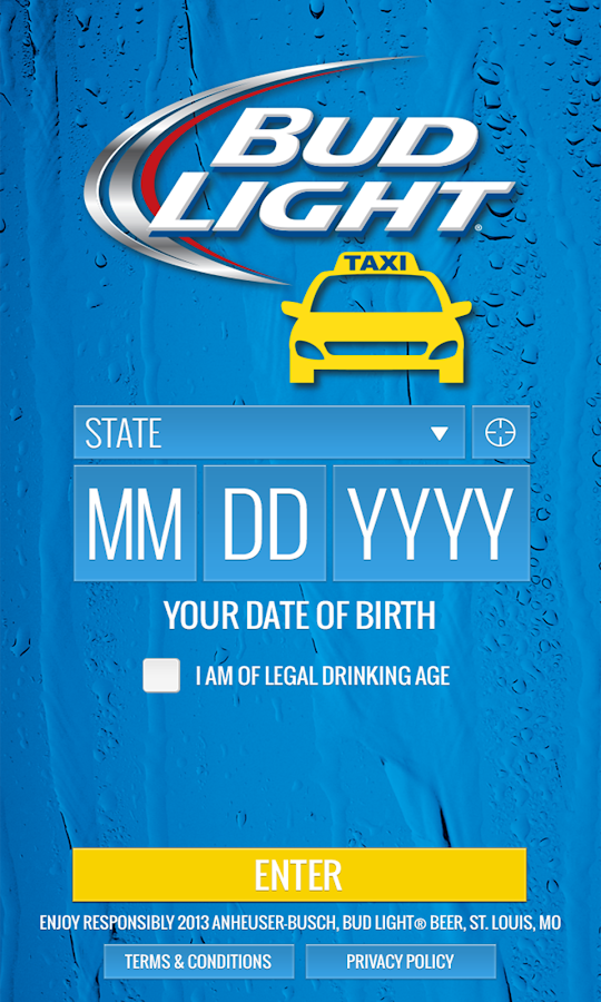 Bud Light Taxi - screenshot