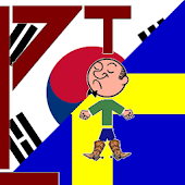 Korean Swedish Hangman