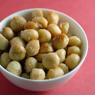 Candied Macadamia Nuts.