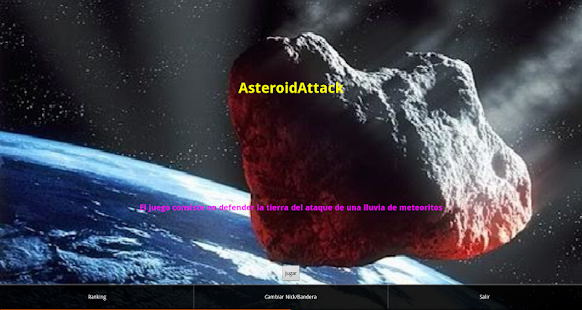 AsteroidAttack screenshot