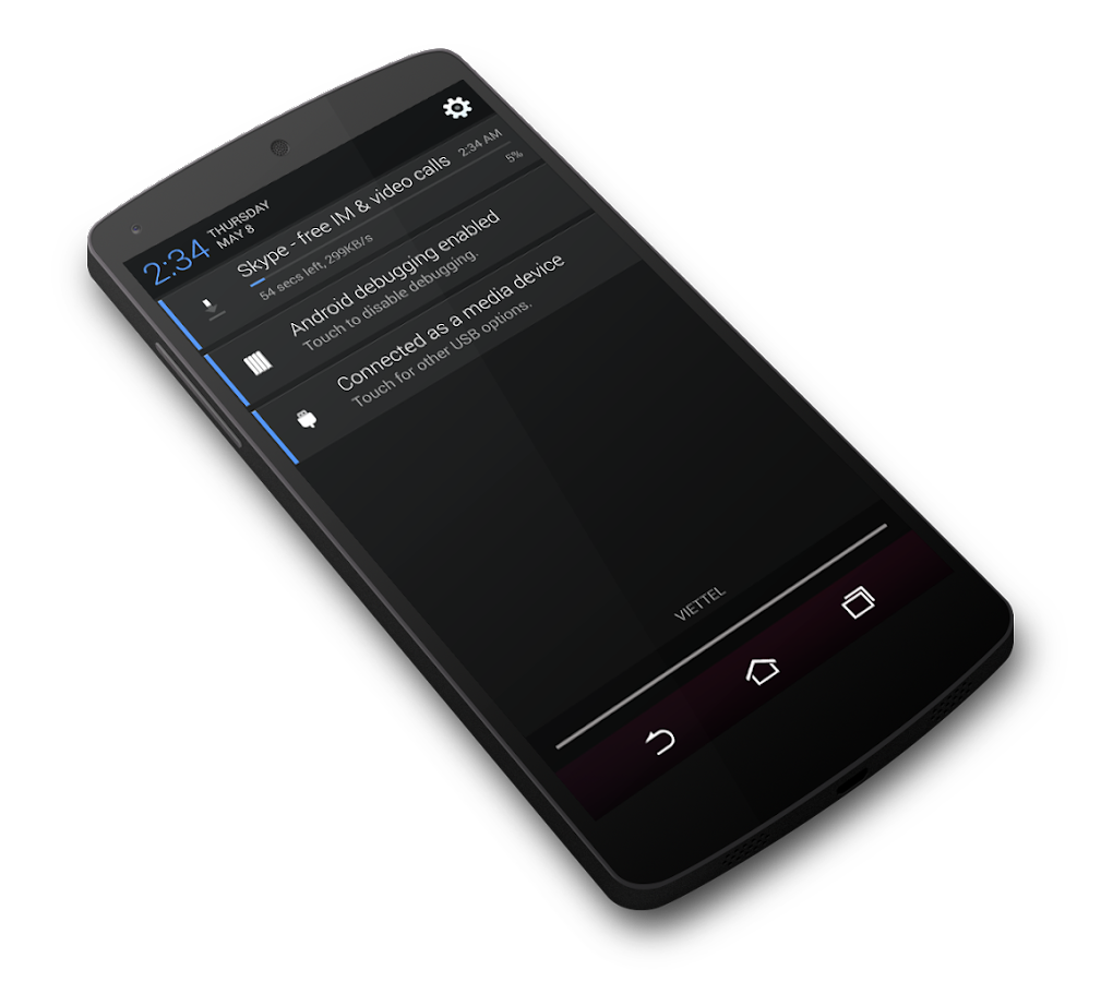 Mianogen Free - CM12/PA Theme - screenshot