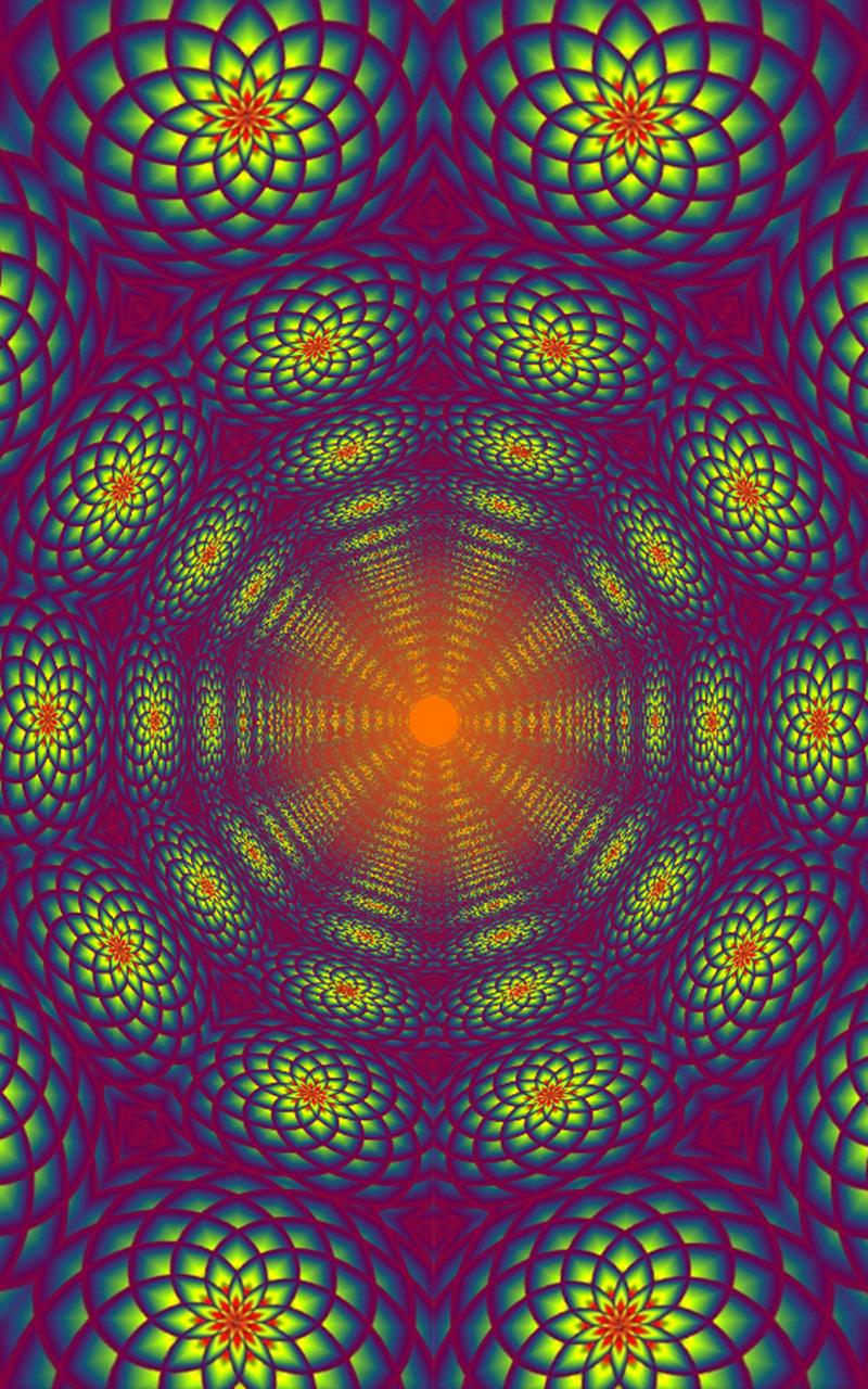 Morphing Tunnels Music Visualizer Screenshot 7