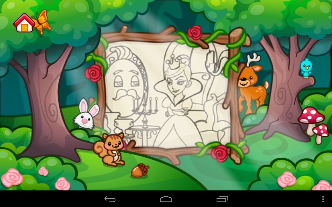 Girls Coloring- screenshot