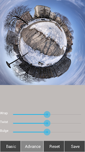 Tiny Planet Fx Pro: miniatura de captura de pantalla