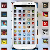 Jelly Squares Icon Pack
