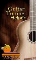 Screenshot of Guitar Tuning Helper