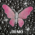 Diamond Pink Butterflies DEMO icon