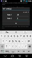 Screenshot of Markup Calculator B