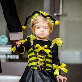 Busy Bee by Christopher Mazzoli - Babies & Children Children Candids ( child, holiday, girl, costume,  )