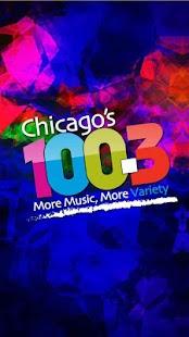 Chicago's 100.3 - screenshot thumbnail