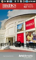 Screenshot of Memphis Brooks Museum of Art