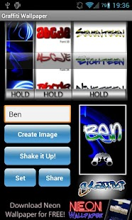 Graffiti Tag Wallpaper Maker - screenshot thumbnail