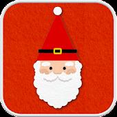 Felt Santa go locker theme
