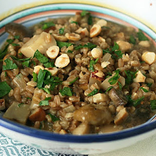 Farro Risotto with Mushrooms Recipe