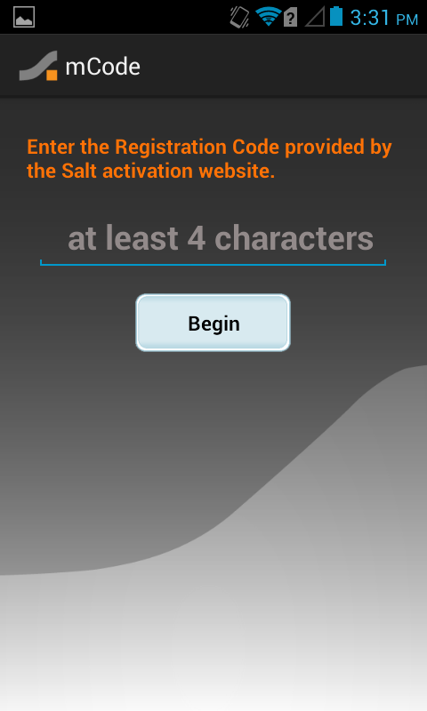Salt mCode - screenshot