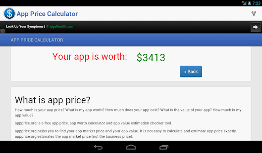 App Price Calculator- screenshot thumbnail