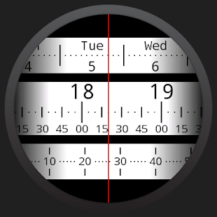 Meter Watch Face for Wear - screenshot thumbnail