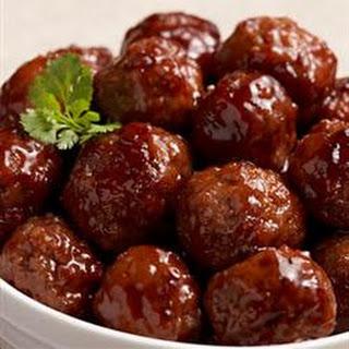 Bavarian Style Meatballs.
