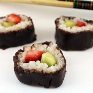 Dessert Sushi.