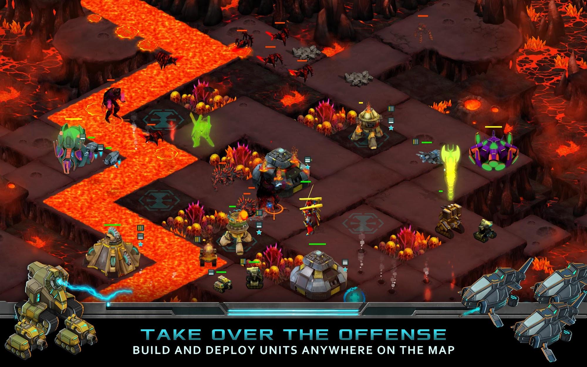 Nitropia: War Commanders screenshot #8