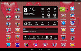 Screenshot of LC Heart Theme Apex/Go/Nova