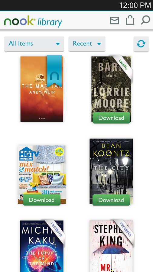 NOOK – Read Books & Magazines - screenshot