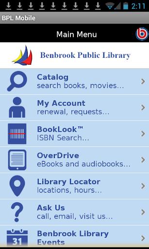 Benbrook Public Library Mobile