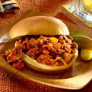 Smokey Chipotle Sloppy Joes.