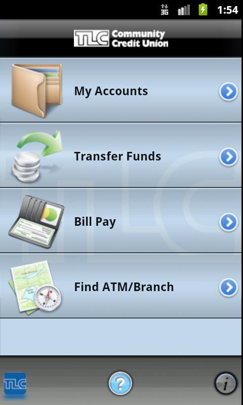 TLCCU Mobile - screenshot