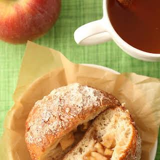 Apple Pie Filled Doughnuts.