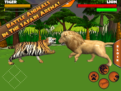 Safari Arena: Animal Fighter