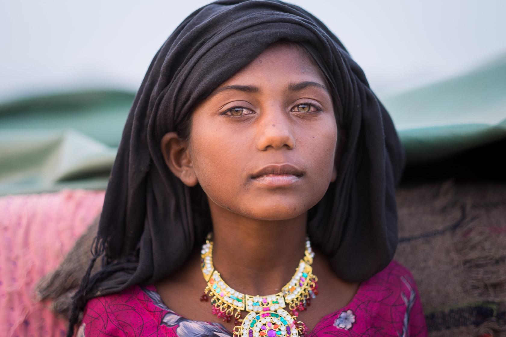 Kalbelia Woman, Pushkar, India