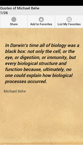 Quotes of Michael Behe