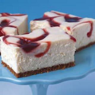 PHILADELPHIA New York-Style Strawberry Swirl Cheesecake.