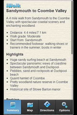 iWalk Sandymouth to Coombe