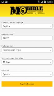 MoBible - Daily Bible Message screenshot