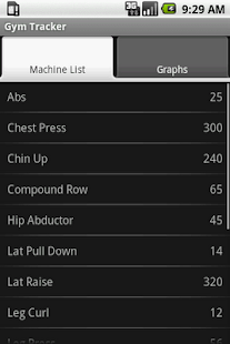 Gym Tracker - screenshot thumbnail