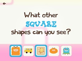 Screenshot of Ask Me! Shapes and Colors Free