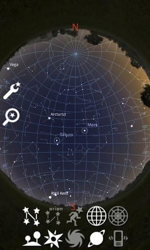 Stellarium Mobile Sky Map screenshot