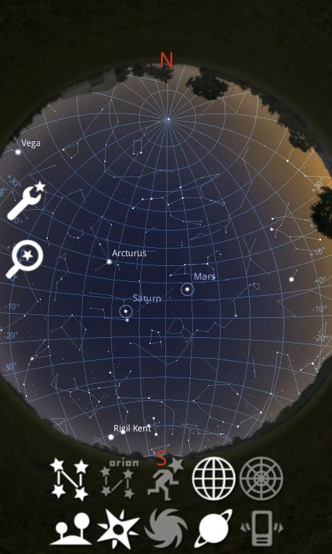 Stellarium Mobile Sky Map Screenshot 3