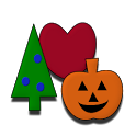 Holiday Coloring Book icon