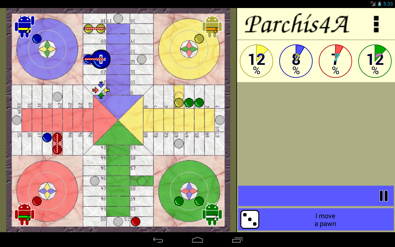 Parchís4A- screenshot