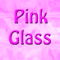 Pink Glass Keyboard FREE logo