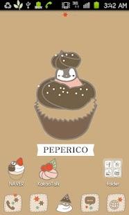 Pepe-berry cupcake Go launcher - screenshot thumbnail