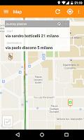 Screenshot of Milano Bus Live