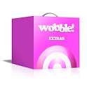 Wobble wobbly bits upgrade pac logo