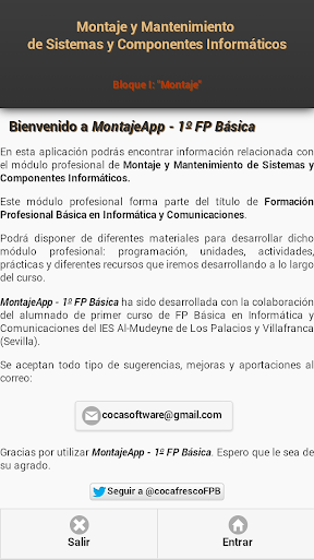 MontajeApp - 1º FP Básica