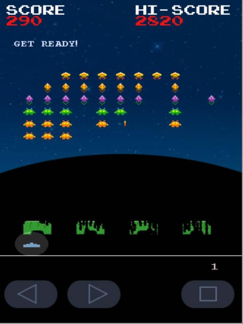 Invaders from Androidia (Free)- screenshot