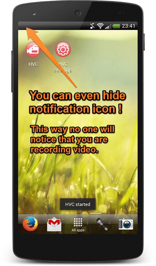 Hidden Video Camera - screenshot