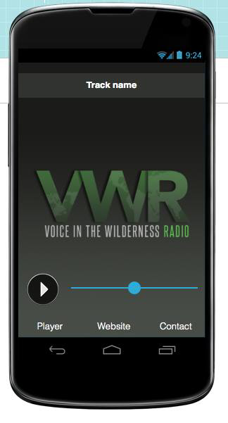 Voice in the Wilderness Radio- screenshot